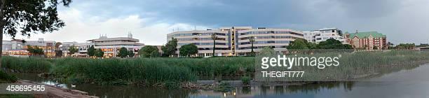 centurion mall and offices - centurion zuid afrika stockfoto's en -beelden