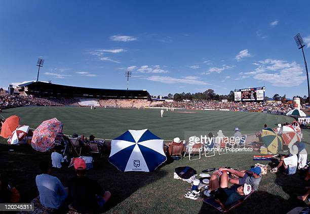 Centurion Park cricket ground during the 1st Test match between South Africa and England in Pretoria on the 20th November 1995 The match ended in a...