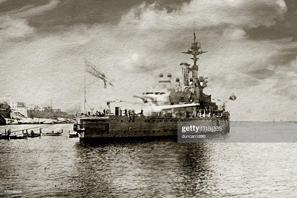 HMS Centurion : Foto de stock