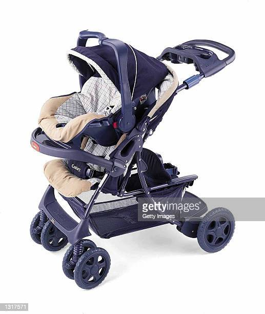 Century Products stroller is on display in an undated photo US safety regulators announced a recall of about 650000 combination car seat/strollers...