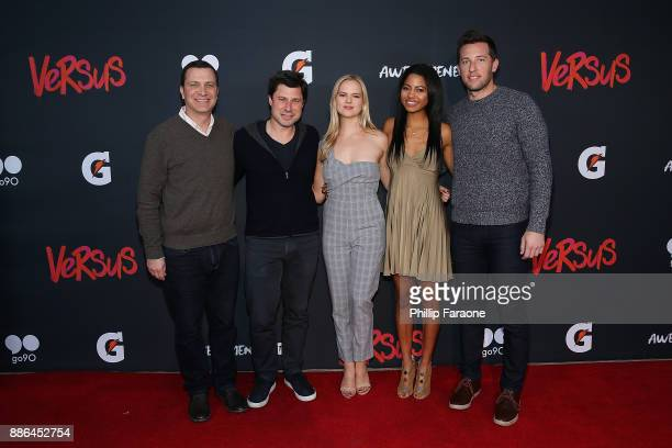 Ceo of Awesomeness Jordan Levin President of Awesomeness Brett Bouttier Maddie McCormick Camille Hyde and President of Awesomeness Films Matt Kaplan...