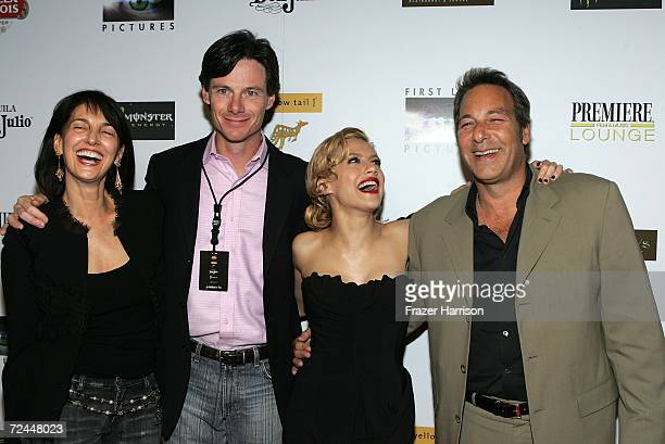 Ceo of First Look Pictures Ruth Vitale, Premiere Magazine Publisher Paul Turcotte, actress Brittany Murphy and Producer Henry Winterstern arrive at...