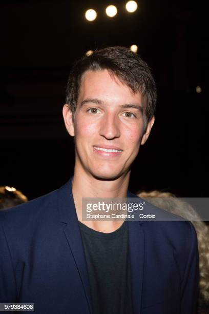 Ceo of Rimowa Alexandre Arnault attends the OffWhite Menswear Spring/Summer 2019 show as part of Paris Fashion Week Week on June 20 2018 in Paris...
