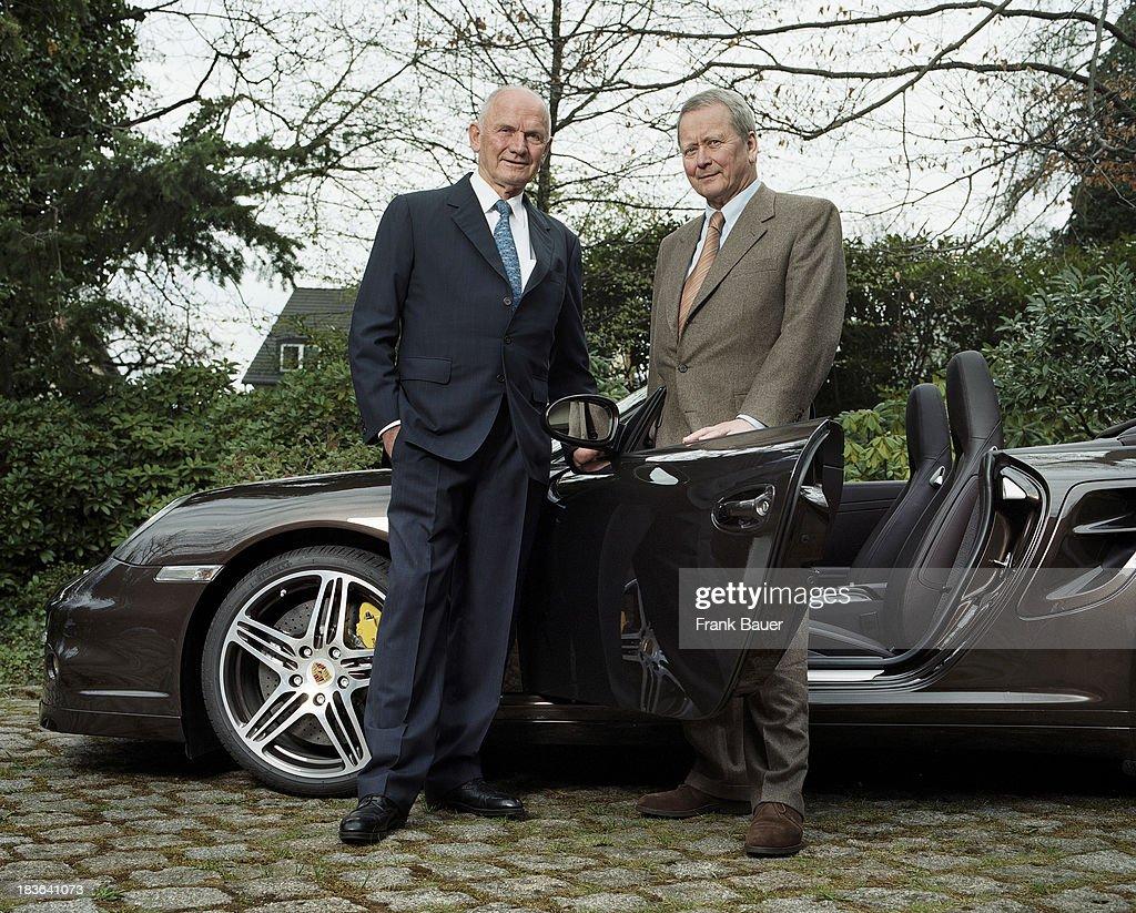 Ferdinand Piech and Wolfgang Porsche, Stern Germany, April 27, 2008