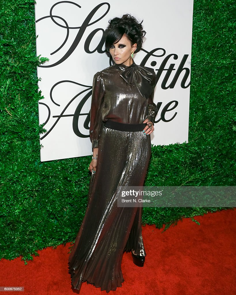 CEO/creative director of Alice+Olivia Stacey Bendet attends the Saks Downtown x Vogue event held at Saks Downtown on September 8, 2016 in New York City.