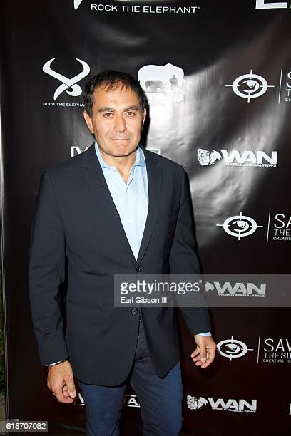 Founder of Rock The Elephant Bhalin Singh attends the Fundraiser Event For Rock The Elephant at Hotel Bel-Air on October 27, 2016 in Los Angeles,...