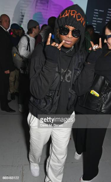 Ceon Broughton attends as Dazed ck one celebrate the launch of the Dazed 100 at 180 The Strand on April 6 2017 in London England