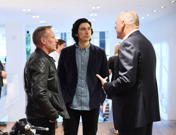 NY: The Breitling Premier Norton Edition Arrives In New York At An Exclusive Event Hosted By Breitling Cinema Squad Member Adam Driver