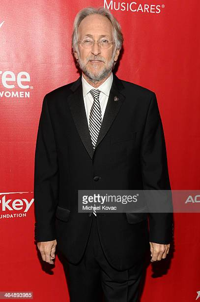 President of the National Academy of Recording Arts and Sciences Neil Portnow attends 2014 MusiCares Person Of The Year Honoring Carole King at Los...