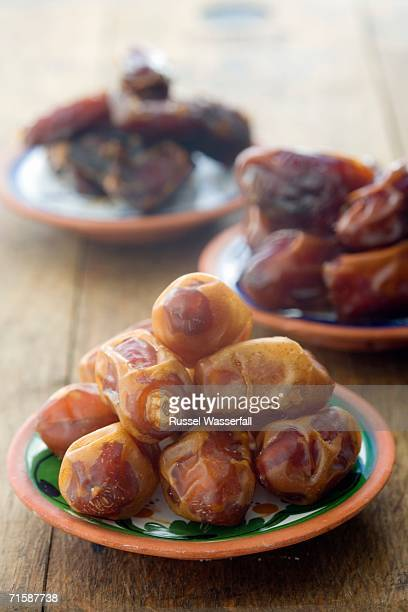 Ceramic Plates with Egyptian and Saudi Dates