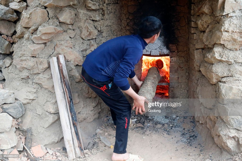 Ceramic roofing tile factory. Oven. Pictures | Getty Images