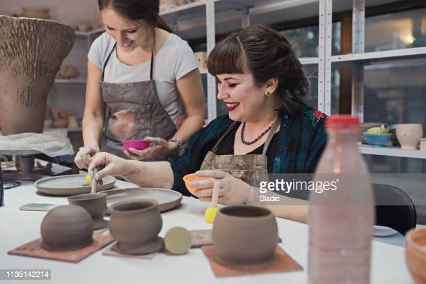 ceramic workshop - clay stock pictures, royalty-free photos & images