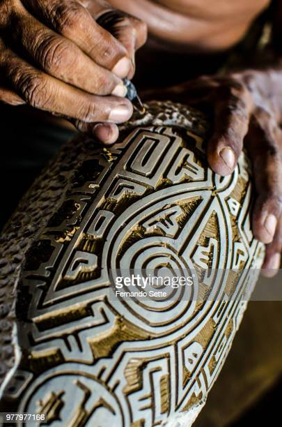 ceramica - polynesian culture stock photos and pictures