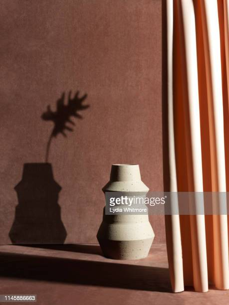 ceramics shadows - still life stock pictures, royalty-free photos & images