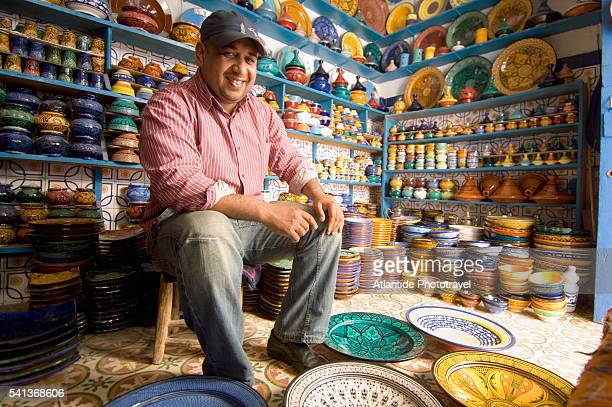 Ceramics Shop in Essaouira