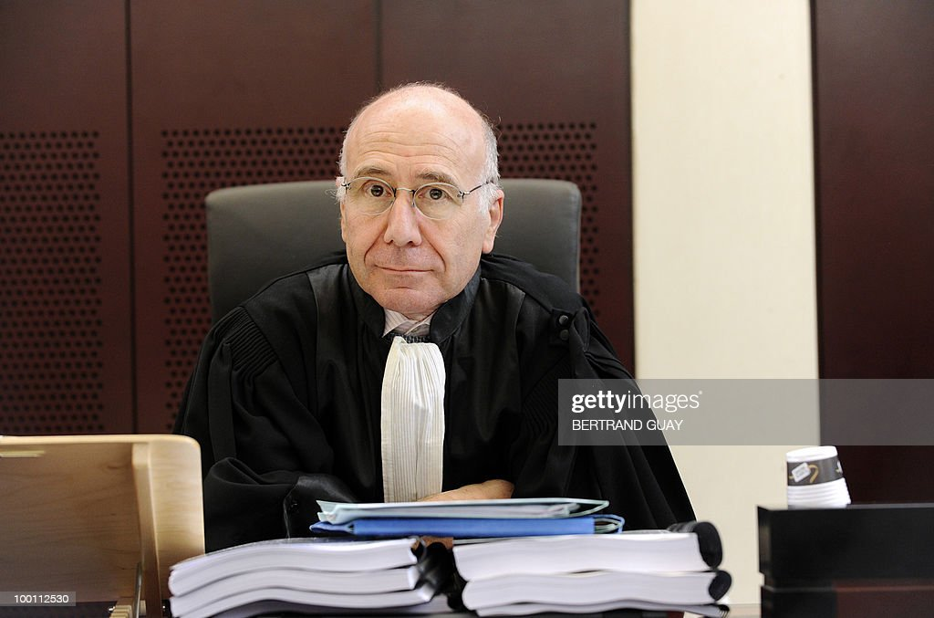 Cercy-Pontoise's prosecutor Bernard Farret poses on May 21, 2010 at Pontoise courthouse, on the day of the closing speech for the prosecution during the trial to determine who was to blame for the 2000 Concorde disaster that killed 113 people, most of them German tourists, and four hotel workers on the ground. The trial opened with French engineers who built the Concorde in the dock alongside Continental Airlines mechanics accused of causing the crash that sounded the death knell for supersonic travel.