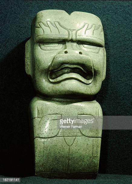 Ceremonial adze in the form of a jaguar spirit Mexico Olmec 1200 400 BC la Venta Tabasco
