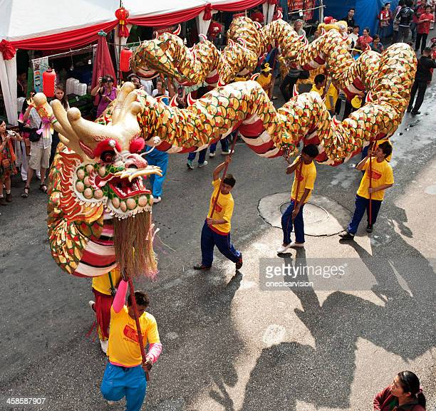 Ceremonial Chinese New Year Dragon