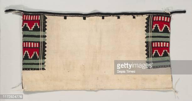 Ceremonial Dance Kilt, c. 1900-1925. America, Native North American, Southwest, Pueblo , Post-Contact, Early Period. Warp face plain weave handspun...