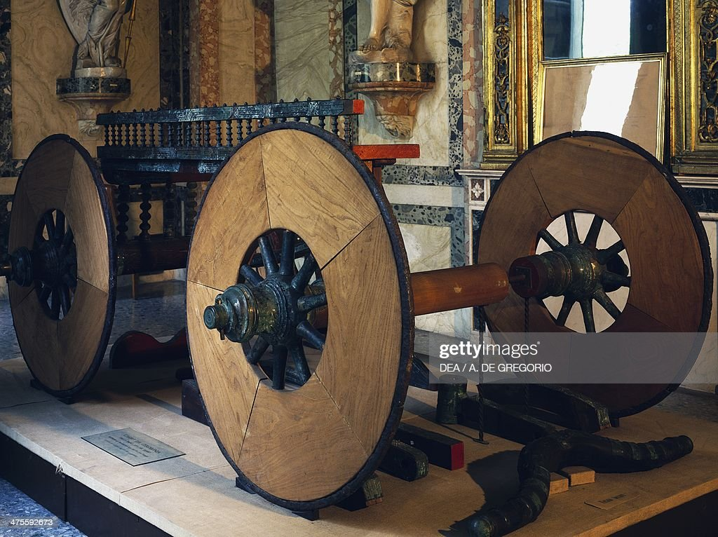 Ceremonial funerary wagon. Celtic civilization : Nachrichtenfoto
