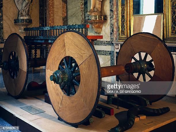 Ceremonial funerary wagon Celtic civilisation 5th4th century BC Como Museo Civico Archeologico Paolo Giovio