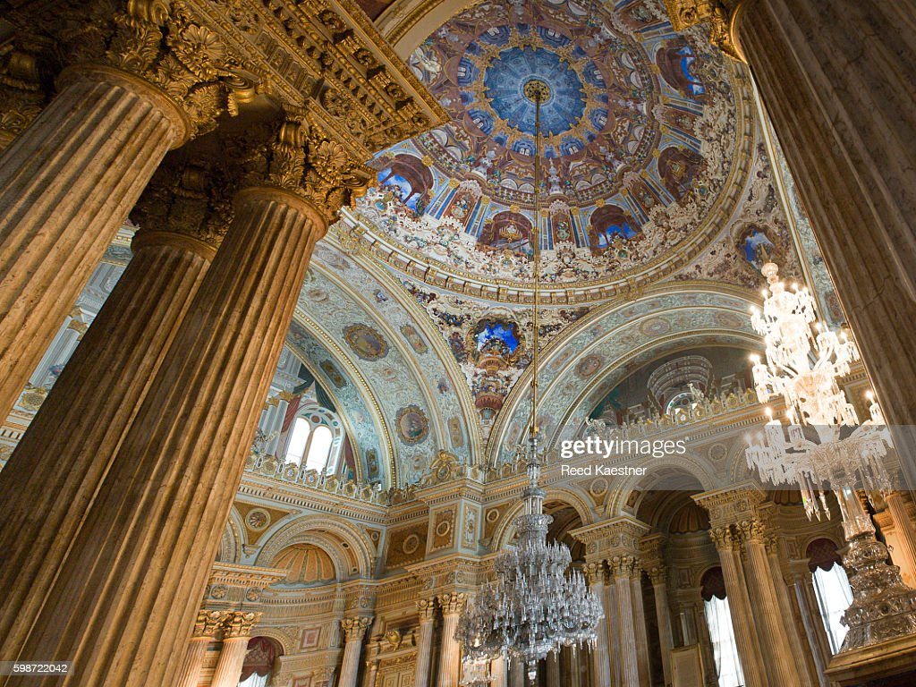Ceremonial hall and worlds largest chandelier dolmabahce palace ceremonial hall and worlds largest chandelier dolmabahce palace stock photo arubaitofo Image collections