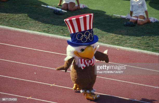 Sam the Eagle 1984 Summer Olympics