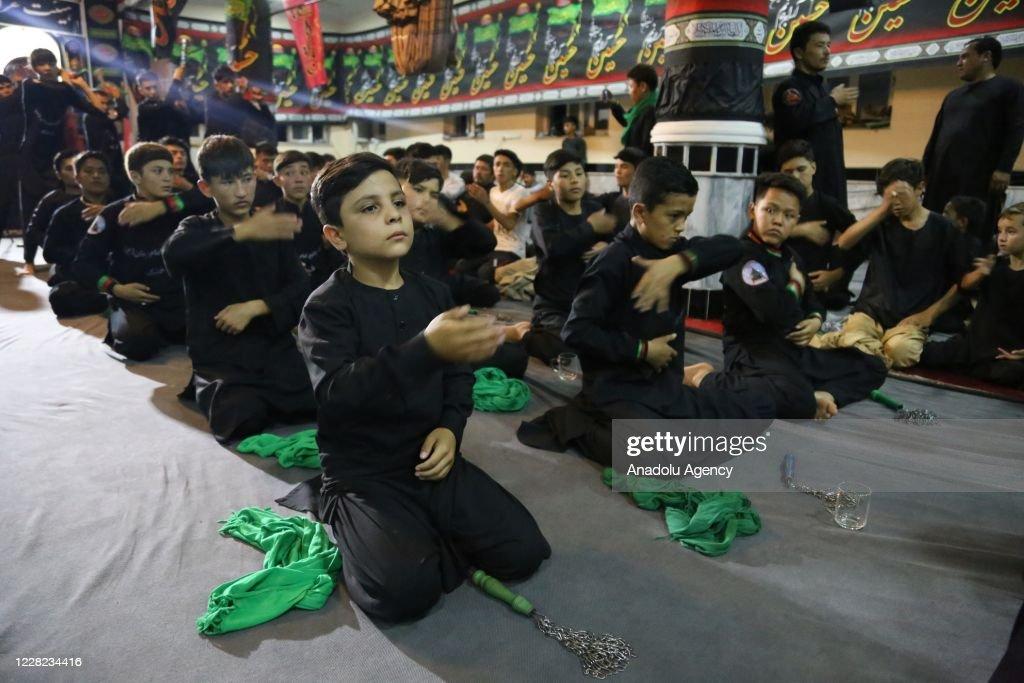 Afghans mark month of Muharram amid Covid-19 : ニュース写真