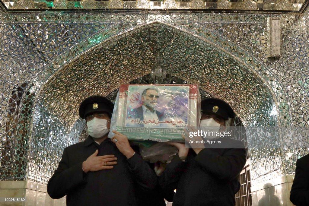 The asassination of Iranian Nuclear Scientist Mohsen Fakhrizadeh Mahabadi : News Photo