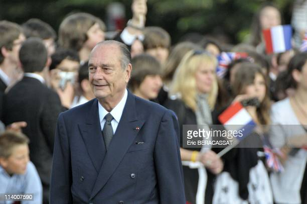 Ceremony marking the 70th anniversary of 1940 radio appeal in Suresnes France On June 18 2010French President Nicolas Sarkozy attends a ceremony...