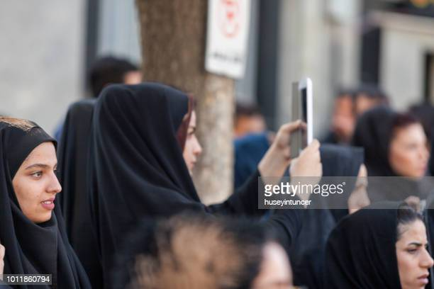 ceremony of ashura, i̇ran - muharram stock pictures, royalty-free photos & images