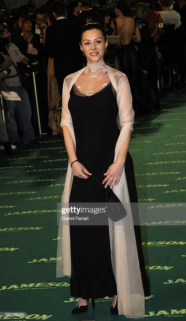 Ceremony of delivery of the cinematographic prizes 'Goya 2009', the actress Ana Alvarez, First February 2009, 'Palacio Municipal de Congresos', Madrid, Spain,.