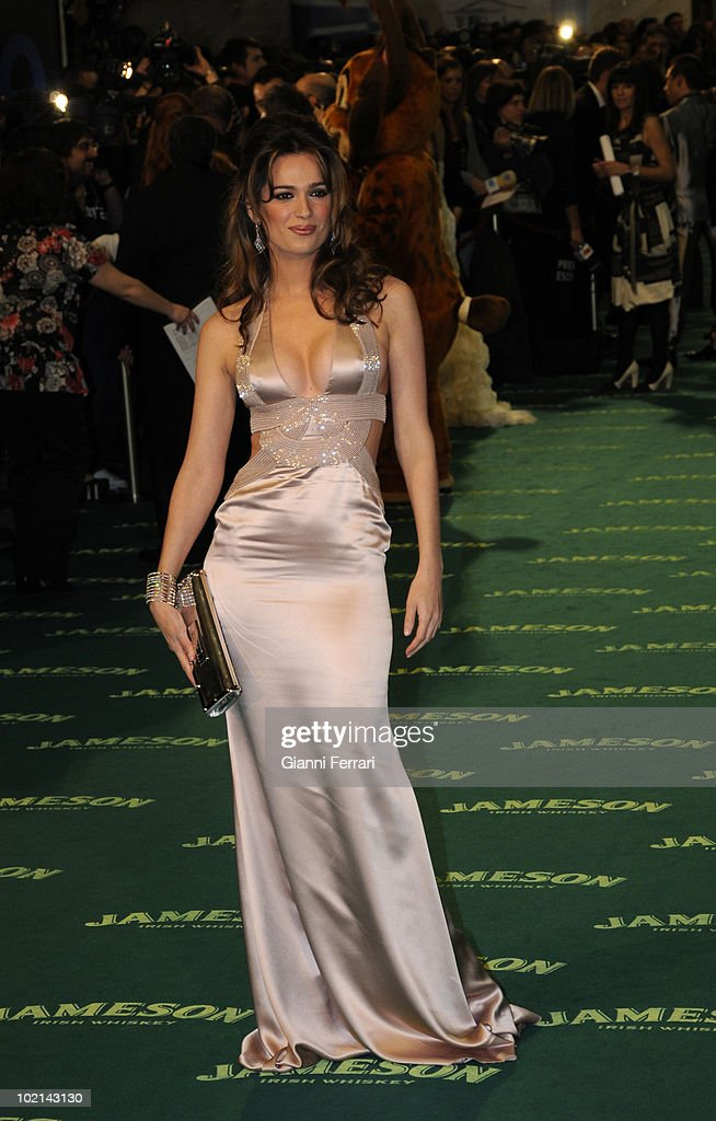Ceremony of delivery of the cinematographic prizes 'Goya 2009', the actress Mar Saura, First February 2009, 'Palacio Municipal de Congresos', Madrid, Spain.