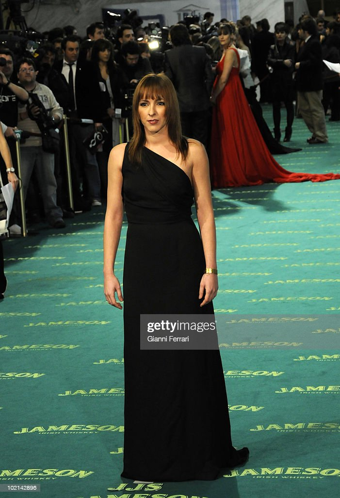 Ceremony of delivery of the cinematographic prizes 'Goya 2009', the actress Esperanza Pedreno, First February 2009, 'Palacio Municipal de Congresos', Madrid, Spain,.