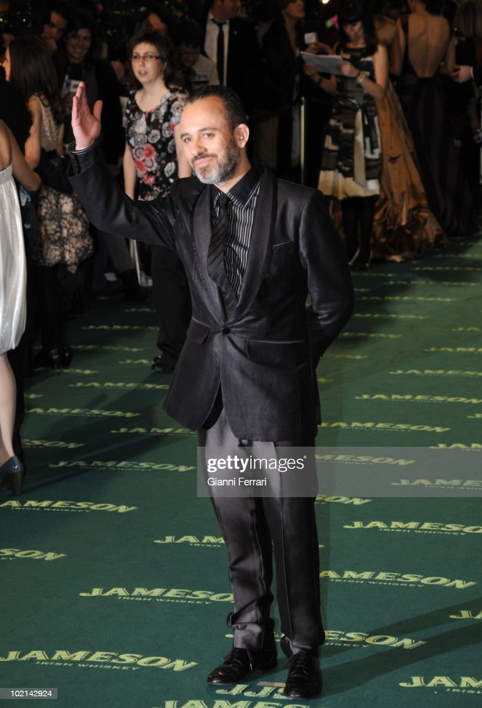 Ceremony of delivery of the cinematographic prizes 'Goya 2009', the actor Javier Gutierrez, First February 2009, 'Palacio Municipal de Congresos', Madrid, Spain,.