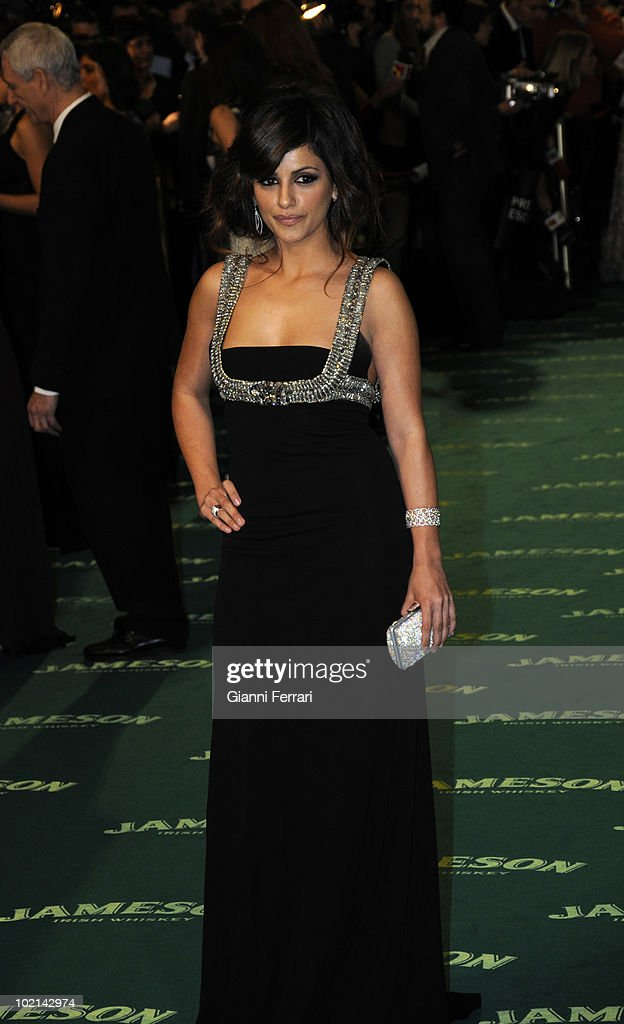 Ceremony of delivery of the cinematographic prizes 'Goya 2009', the actress Monica Cruz, First February 2009, 'Palacio Municipal de Congresos', Madrid, Spain,.