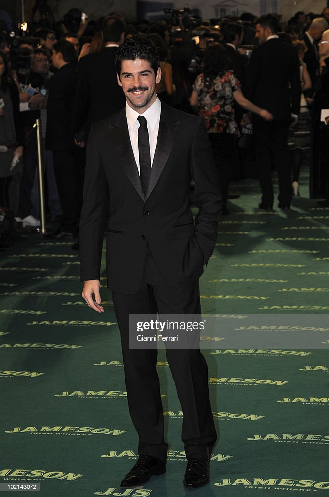 Ceremony of delivery of the cinematographic prizes 'Goya 2009', the actor Miguel Angel Munoz, First February 2009, 'Palacio Municipal de Congresos', Madrid, Spain,.