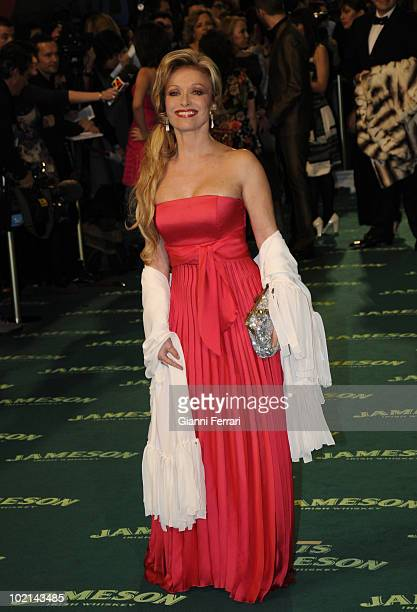 Ceremony of delivery of the cinematographic prizes 'Goya 2009' the actress Silvia Tortosa First February 2009 'Palacio Municipal de Congresos' Madrid...