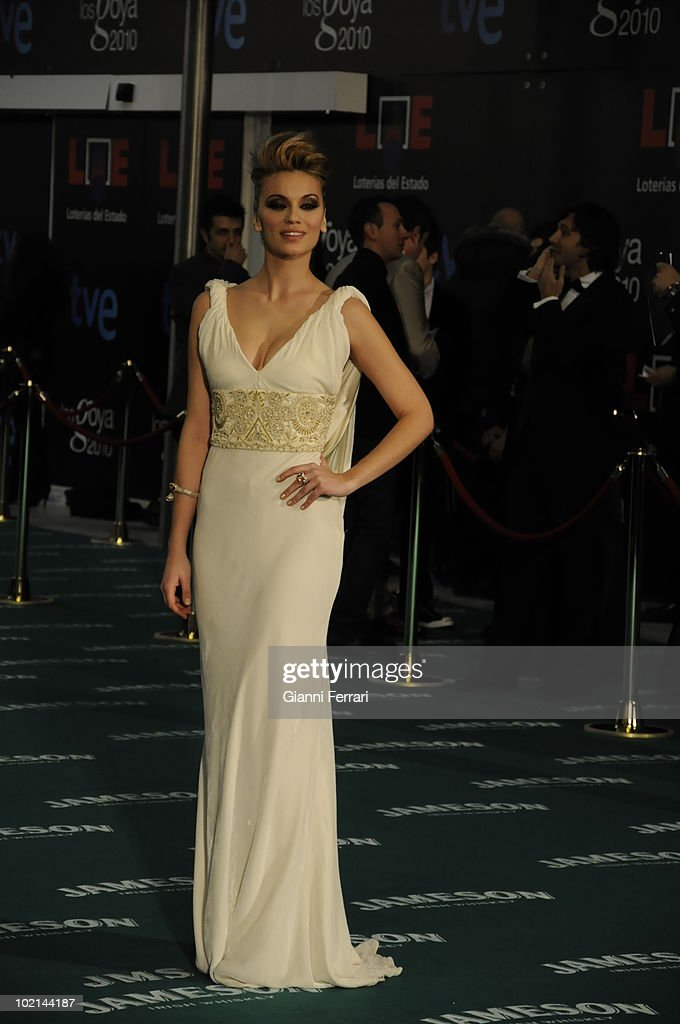 Ceremony of delivery of the cinematographic prizes 'Goya 2010', the actress Mar Saura, 14th February 2010, 'Palacio Municipal de Congresos', Madrid, Spain.