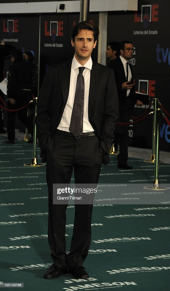 Ceremony of delivery of the cinematographic prizes 'Goya 2010', the actor Juan Diego Botto, 14th February 2010, 'Palacio Municipal de Congresos', Madrid, Spain.