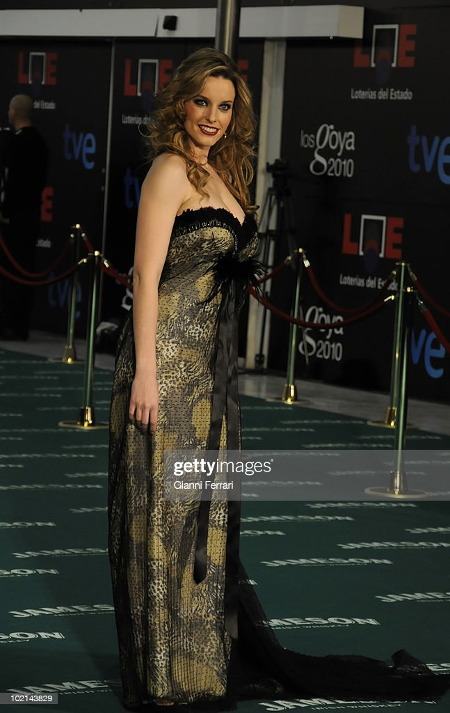 Ceremony of delivery of the cinematographic prizes 'Goya 2010', the model Carolina Bang, 14th February 2010, 'Palacio Municipal de Congresos', Madrid, Spain.