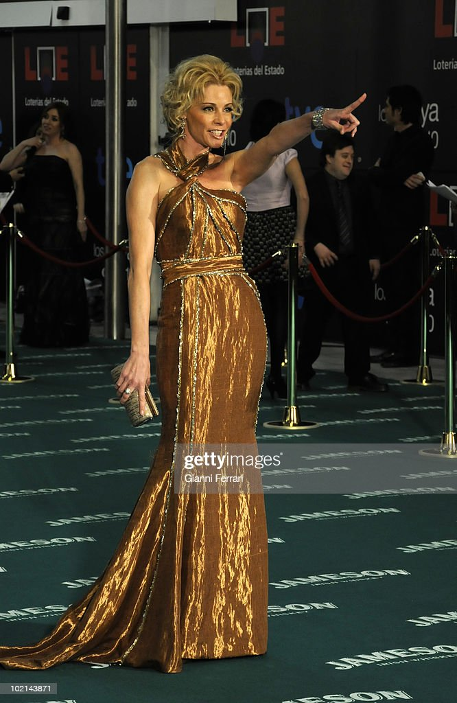 Ceremony of delivery of the cinematographic prizes 'Goya 2010', the actress Belen Rueda, 14th February 2010, 'Palacio Municipal de Congresos', Madrid, Spain.
