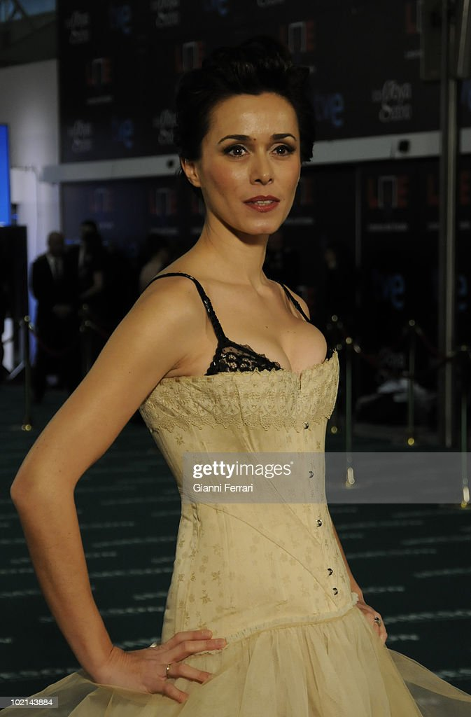 Ceremony of delivery of the cinematographic prizes 'Goya 2010', the actress Fanny Gautier, 14th February 2010, 'Palacio Municipal de Congresos', Madrid, Spain.