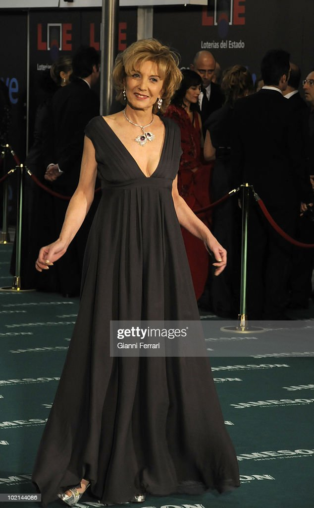 Ceremony of delivery of the cinematographic prizes 'Goya 2010', the actress Marisa Paredes, 14th February 2010, 'Palacio Municipal de Congresos', Madrid, Spain.