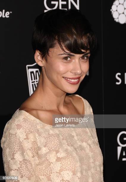 Ceren Alkac attends Gen Art's 12th annual Fresh Faces In Fashion at Petersen Automotive Museum on October 29 2009 in Los Angeles California