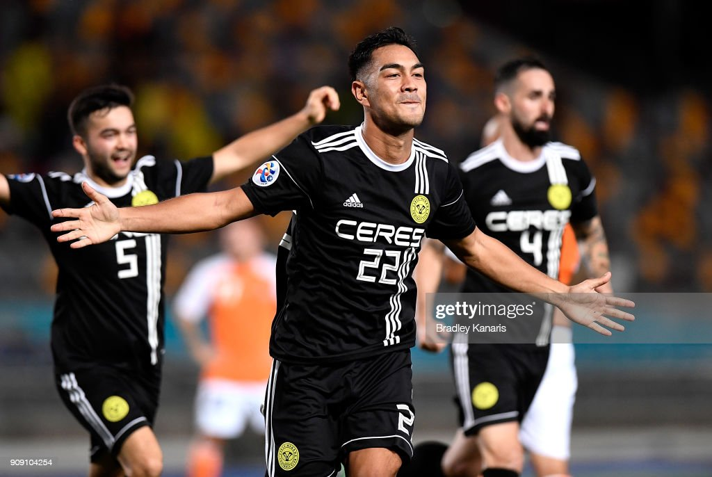AFC Asian Champions League - Preliminary Stage: Brisbane v Ceres-Negro : News Photo
