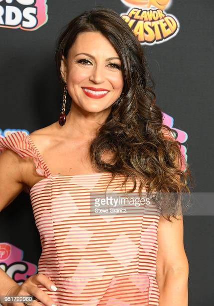 Cerina Vincent arrives at the 2018 Radio Disney Music Awards at Loews Hollywood Hotel on June 22 2018 in Hollywood California