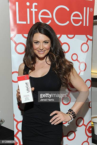 Cerina Vincent attends the GBK LifeCell 2016 Pre Oscar Lounge at The London West Hollywood on February 26 2016 in West Hollywood California