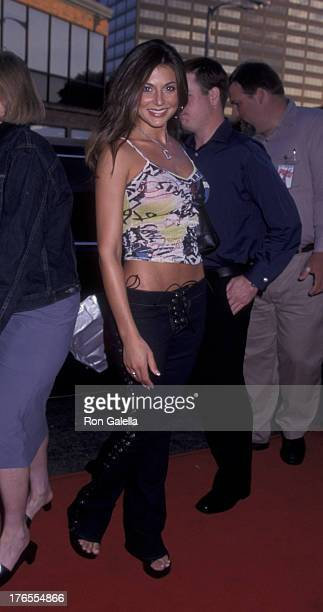 Cerina Vincent attends the world premiere of American Pie 2 on August 6 2001 at Mann National Theater in Westwood California