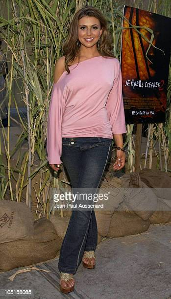 Cerina Vincent during Jeepers Creepers 2 Los Angeles Premiere in Hollywood California United States